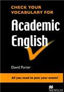 Check Your Vocab Academic English Book